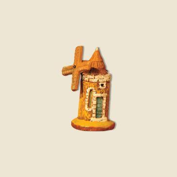 Moulin perpective hauteur 6 cm (argile)