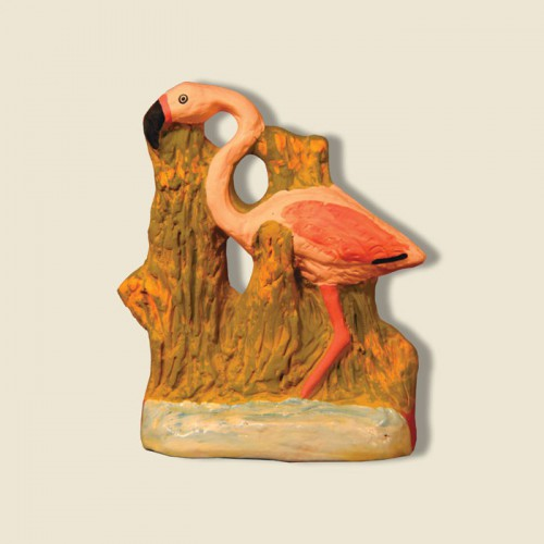 image: Pink flamingo