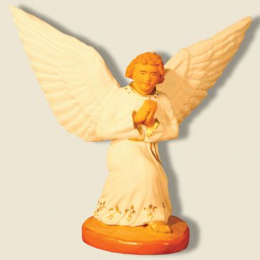 Guardian angel kneeing (white)