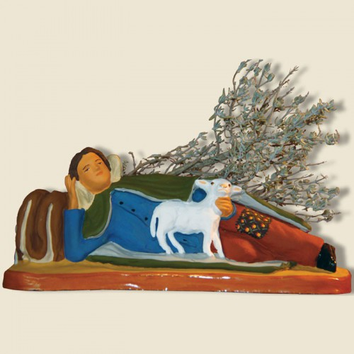 image: Shepherd lying down