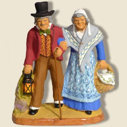 """image: Couple named """"Grasset-Grassette"""""""