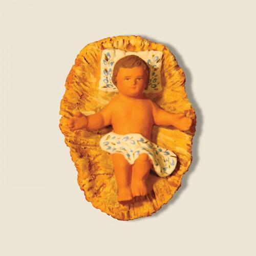 image: Jésus sur paille bras ouverts