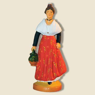 image: Young Arlesian lady