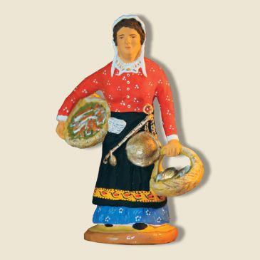 image: Woman fishmonger