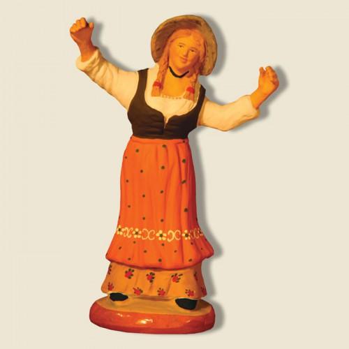 image: Overjoyed woman