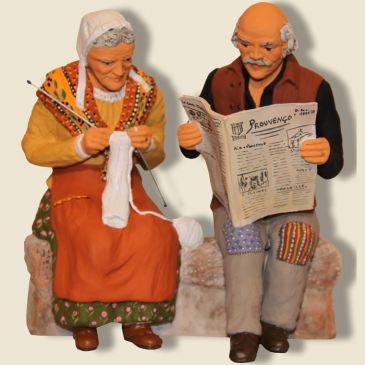 image: Grands-parents sur le banc