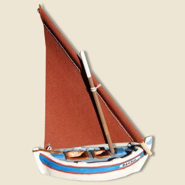 Mediteranean sailing boat (bleu)