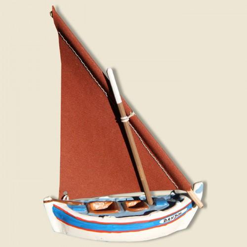 image: Mediteranean sailing boat (bleu)