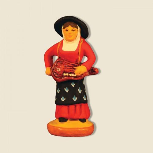 image: Hurdy-gurdy player