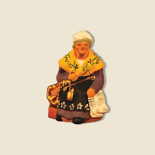 image: Maraichère assise