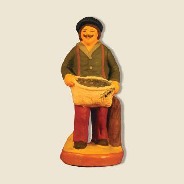 image: Olives gatherer