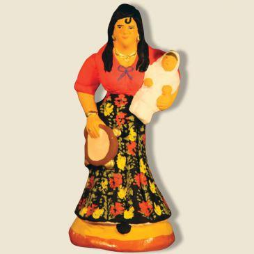 image: Gipsy woman