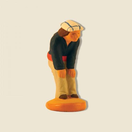 """image: Joueur de boules : l'attentif """"Marius """""""