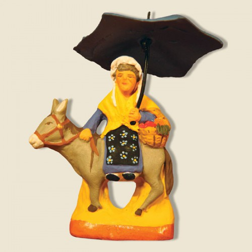 image: Margarido sur l'âne