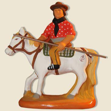 image: Herdsman riding