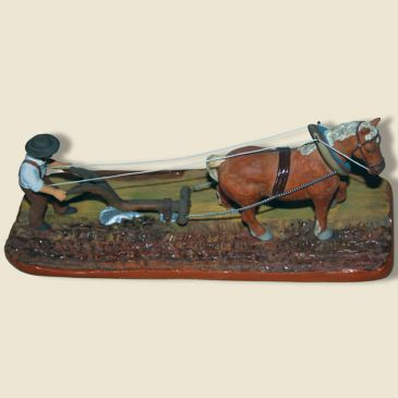 Laboureur et son cheval