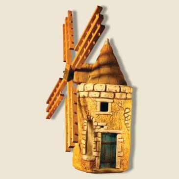 image: Moulin hauteur 28cm (plâtre haute densité)