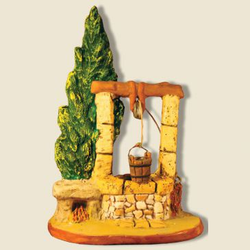 image: Well with cypress (clay)