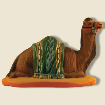 Dromedary lying (green)
