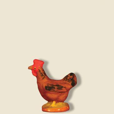 Poule rousse 9 cm