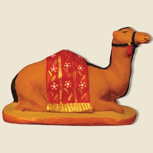 image: Dromadaire couché rouge