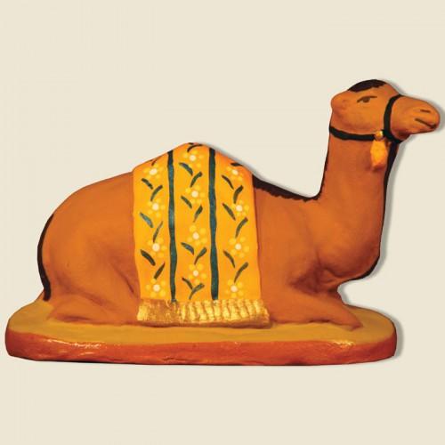 image: Dromadaire couché jaune