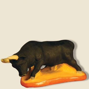 Taureau des Arènes d'Arles 9 cm