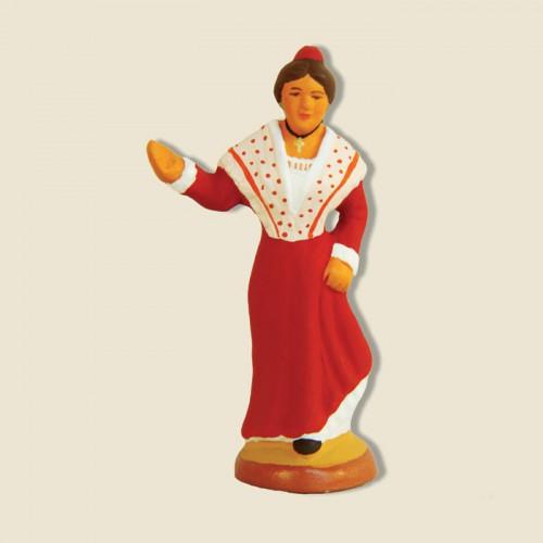 image: Arlésienne de fin de Farandole (rouge)