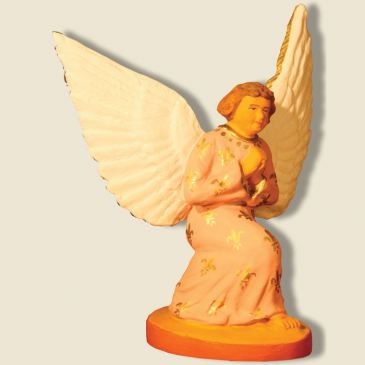 image: Guardian angel kneeing (pink)