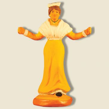 image: Mireille in middle Farandole (yellow)