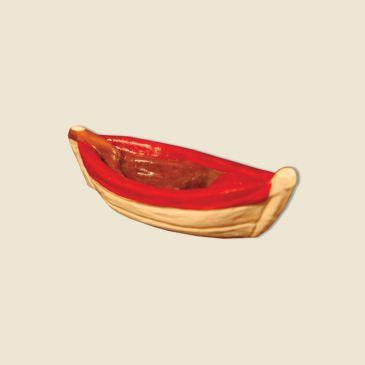 Barque du pêcheur (argile) rouge