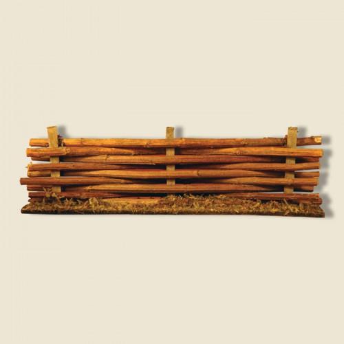 image: Haie tressée en bois
