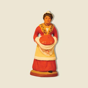 image: Lady cook with Provençal stew