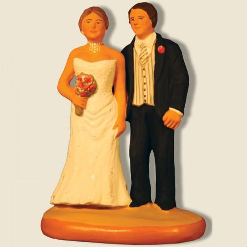 image: Bride and groom (noir)