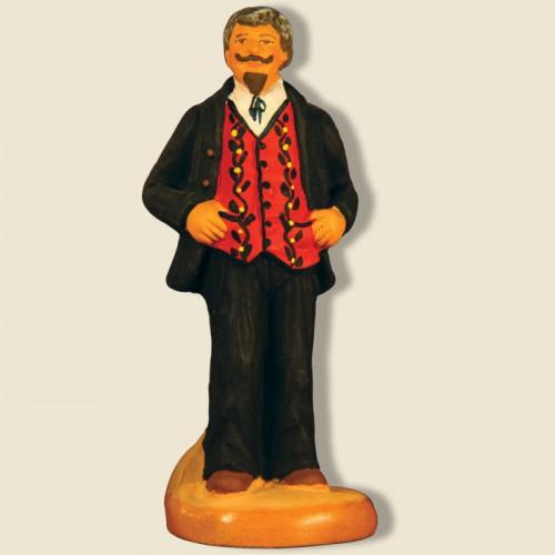 """image: Joueur de boules : Le Spectateur """"Monsieur Brun"""""""