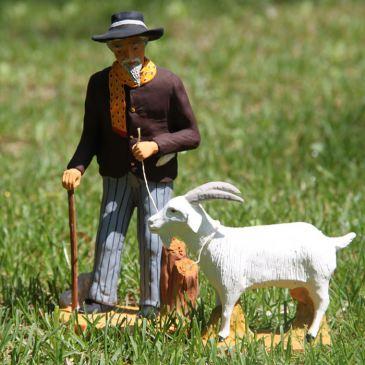 M. Seguin et sa chèvre 20 cm