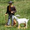 image: M. Seguin et sa chèvre