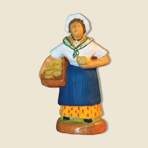image: Woman selling soap