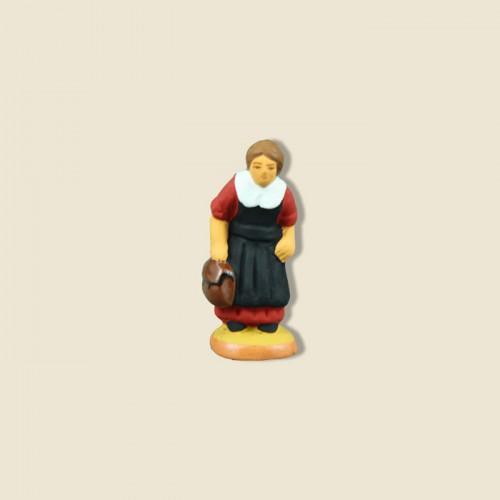image: L'écolière (rouge)