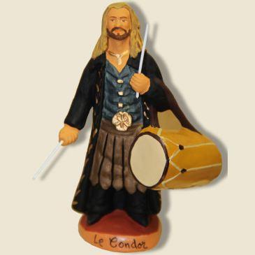 image: Le Condor et son galoubet tambourin
