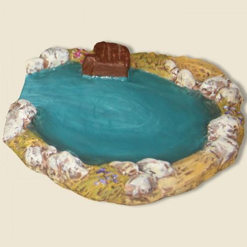 image: La mare aux canards (plâtre haute densité)