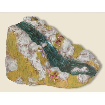 Cascade (plâtre haute densité)