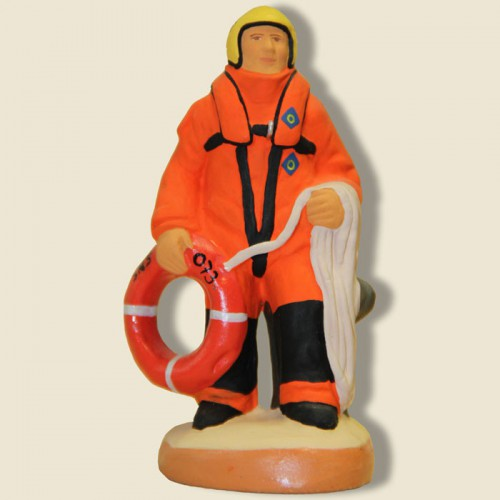 image: The rescuer at sea