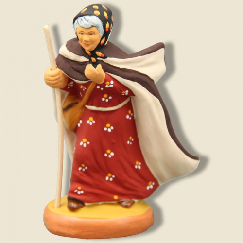 image: Shepherdess in the Crau area