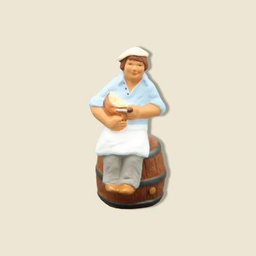 image: Sitting and Crunching Bread and Barrel