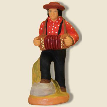 image: Joueur de bandonéon (rouge)