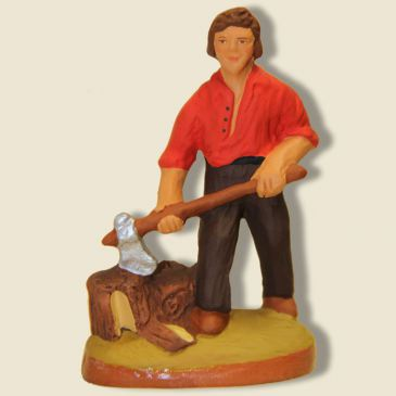 image: Woodcutter (red)