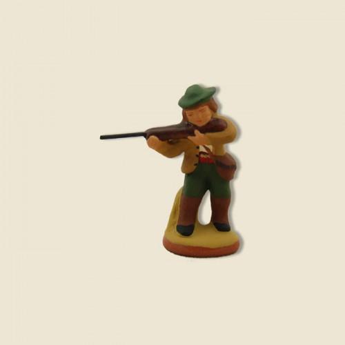 image: Aiming hunter