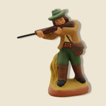 image: Chasseur fusil en joue