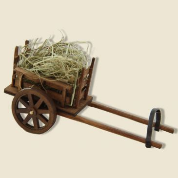 Wood Cart of harness
